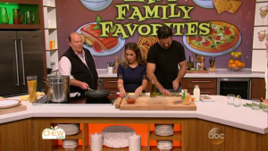 Eric and Jessie James Decker show how to make a family favorite on The Chew.
