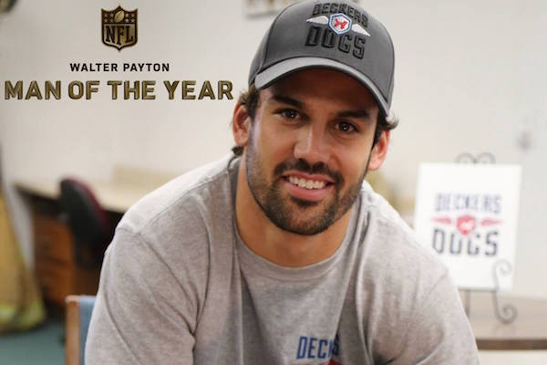 Eric Named Jets' Payton Man of the Year