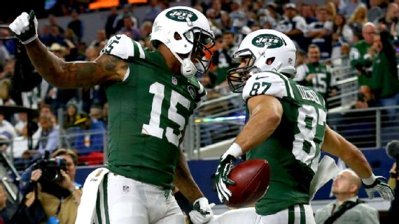 Brandon Marshall, Eric Decker set Jets' TD record for receiving duos